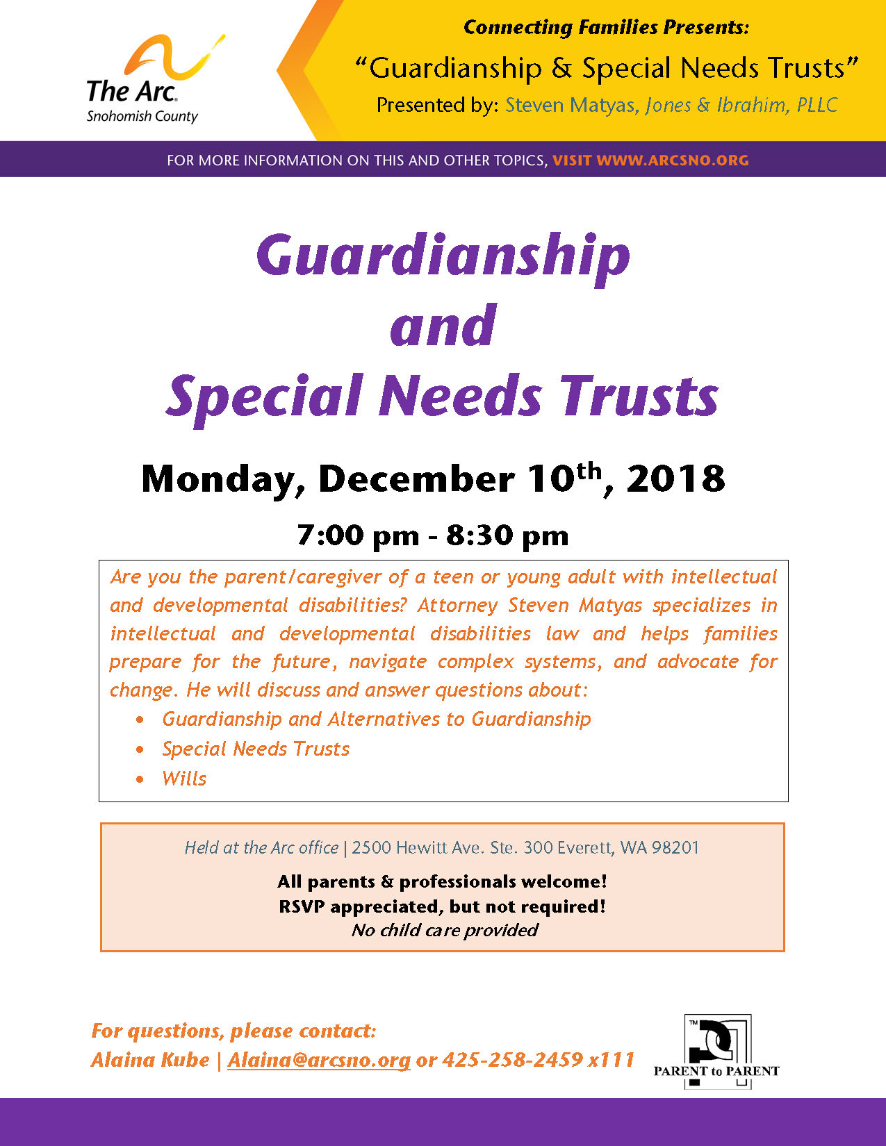 CF Dec2018 Guardianship Special Needs Trusts