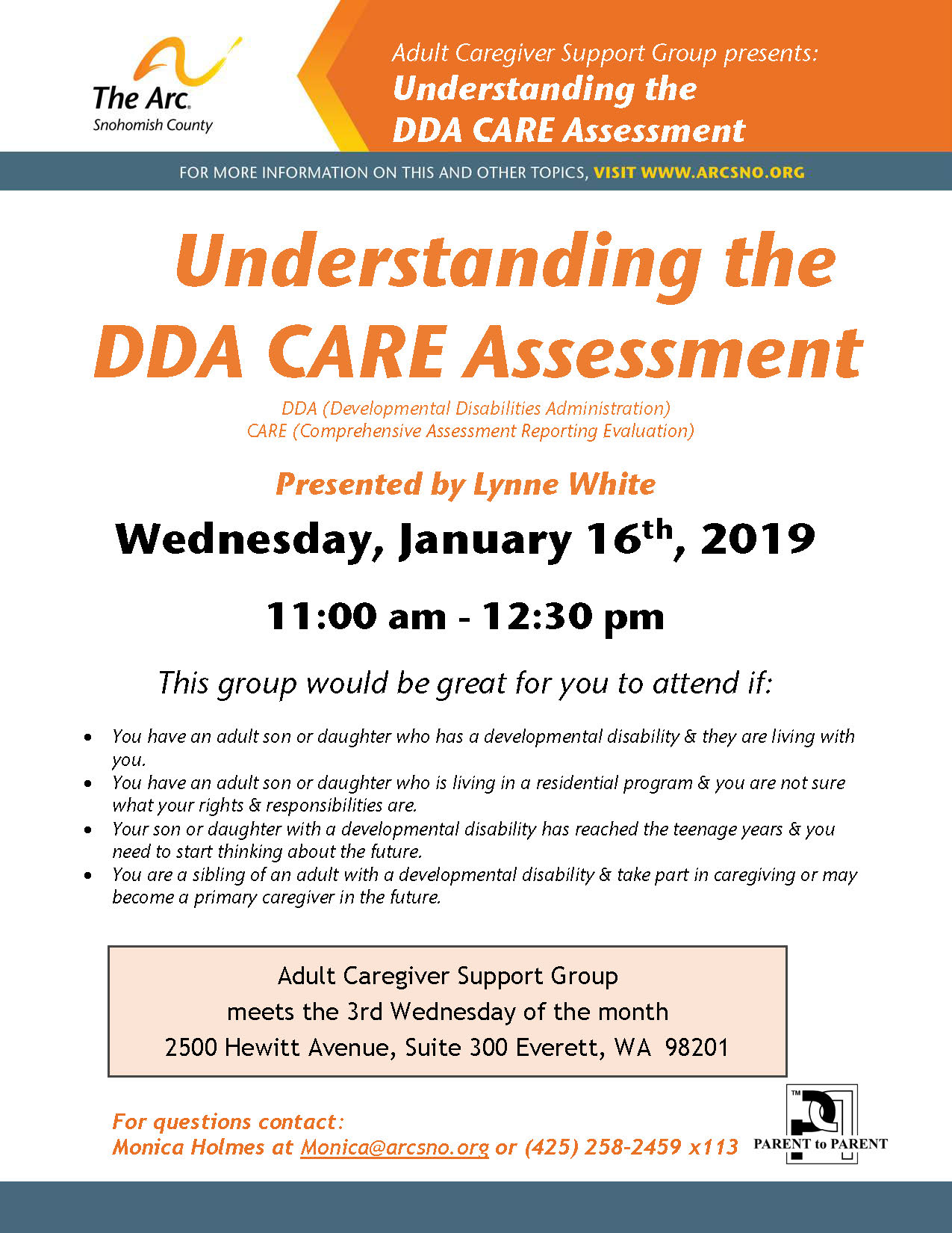 ACG Jan2019 CARE Assessment