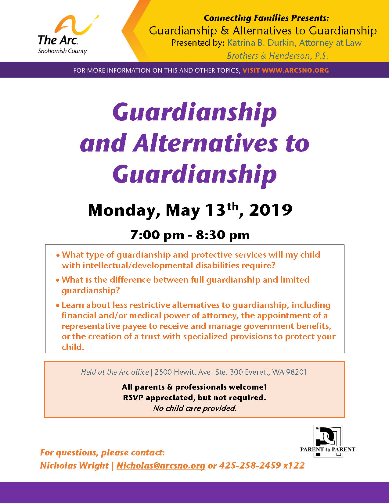 CF May2019 Guardianship Alternatives