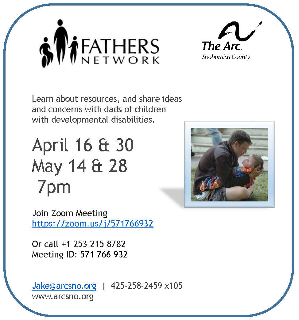 Fathers Network April May Zoom 2020
