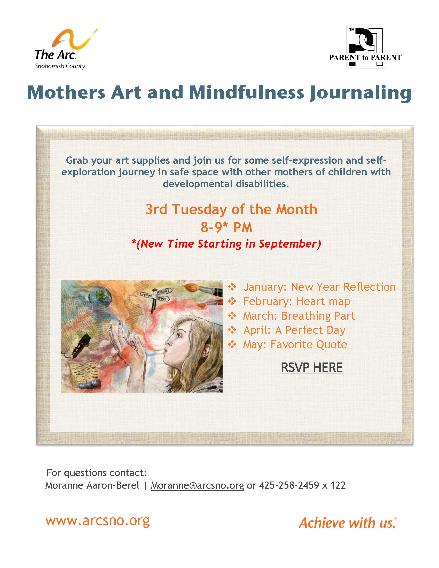 Mothers Art and Mindfulness Journaling Jan May 2021
